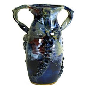 3-Handled Vase - Product Image
