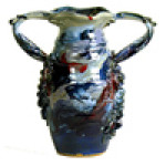 2-Handled Vase : 9-inch - Product Image