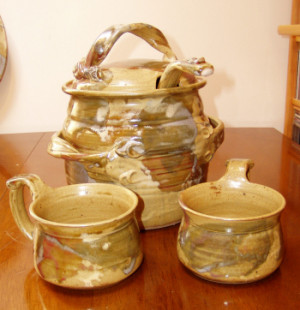 Soup Tureen and Ladle - Product Image