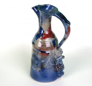 Wine Carafe with Handle - Product Image
