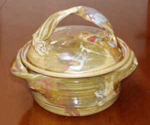 2-Quart Casserole Dish with Lid - Product Image