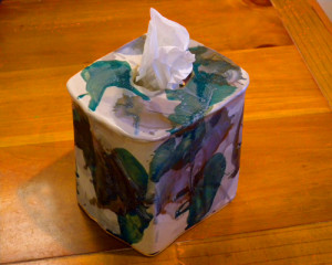 Tissue Box Cover - Square - Product Image