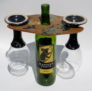 Wine Bottle Caddy H-style - Product Image