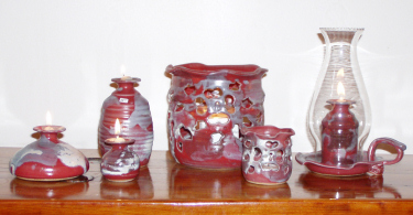 Oil Burning Lights Buie Pottery - Handcrafted pottery in Gatlinburg, TN